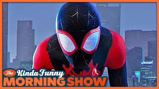 Spider-Man: Into the Spider-Verse Trailer Reacts - The Kinda Funny Morning Show 06.06.18
