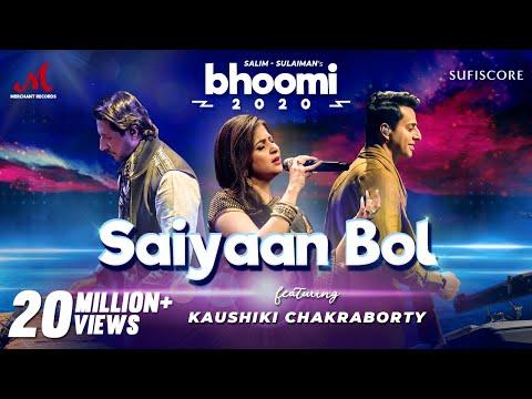 saiyaan-bol---bhoomi-2020-|-kaushiki-chakraborty-|-salim-sulaiman-|-merchantrec-sufiscore-|-new-song
