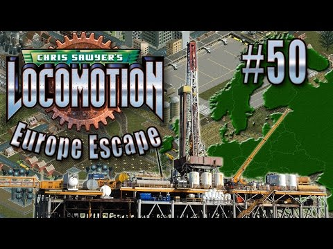Chris Sawyer's Locomotion: Europe Escape - Ep. 50: OFFSHORE PLATFORM