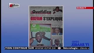 REPLAY - Revue de Presse - Pr : MAMADOU MOUHAMED NDIAYE - 17 Janvier 2019
