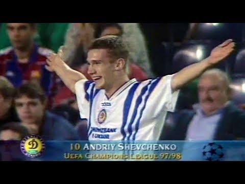 Andriy Shevchenko - Unforgettable Performance vs Barcelona 1997