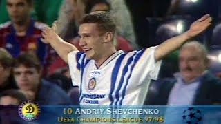 Andriy Shevchenko - Unforgettable Performance vs Barcelona 1997