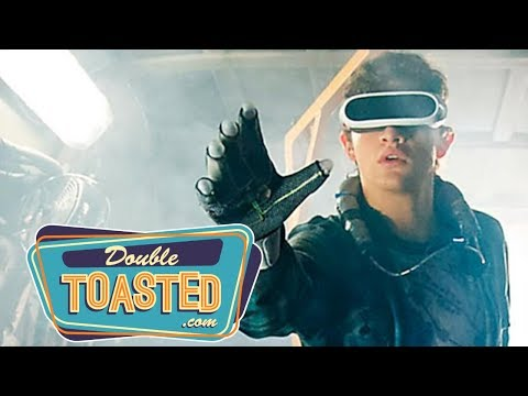 READY PLAYER ONE OFFICIAL MOVIE TRAILER REACTION (2018) - Double Toasted