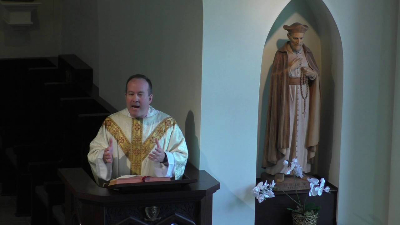 Homily for the Seventh Sunday of Easter - Year C