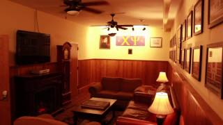 Chi Psi Fraternity House Tour 2014