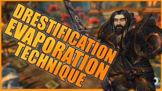 DRESTIFICATION EVAPORATION TECHNIQUE ft. 1v2 Mob Steal - WoW BFA 8.3 Warrior PvP