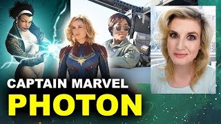 Captain Marvel 2019 - Photon aka Rambeau