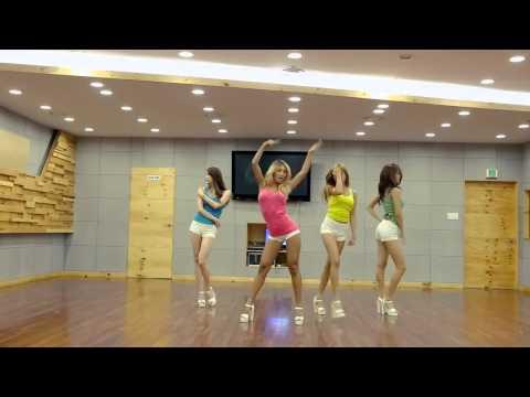 Sistar - Touch my body Dance practice Mirror