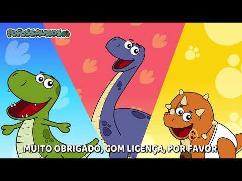 Música Infantil Animada - PALAVRINHAS MÁGICAS - Fofossauros