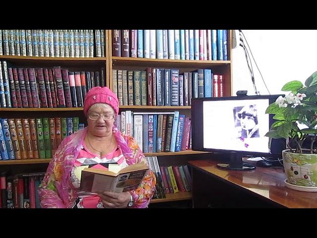 Изображение предпросмотра прочтения – ГалинаТокарева читает произведение «Кто создан из камня» М.И.Цветаевой