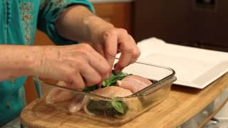 chicken breast with spinach recipe tasty meals