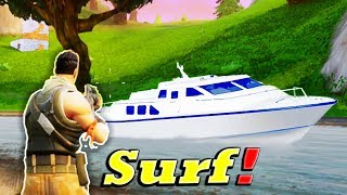 Fortnite Funny and WTF Moments (SURFING!) (Battle Royale)
