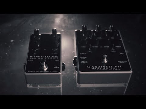 Design and Tone. Perfected:  Microtubes B3K v2 and Microtubes B7K v2
