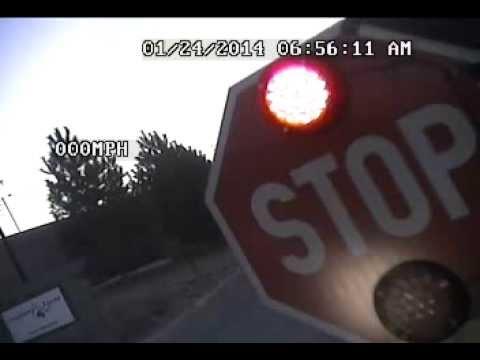 Alpine School District School Bus Stop-arm Camera, In Action (part II)