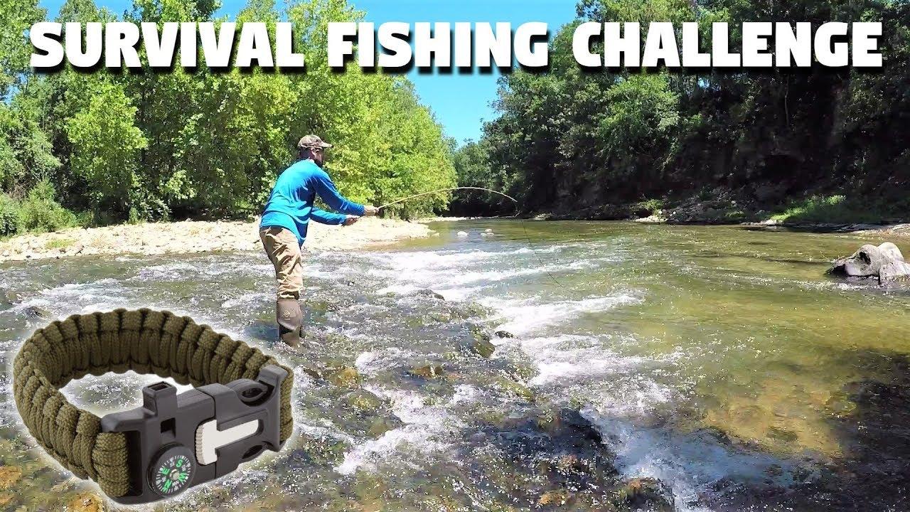 Survival Fishing Challenge Bracelet Only No Rod No Reel