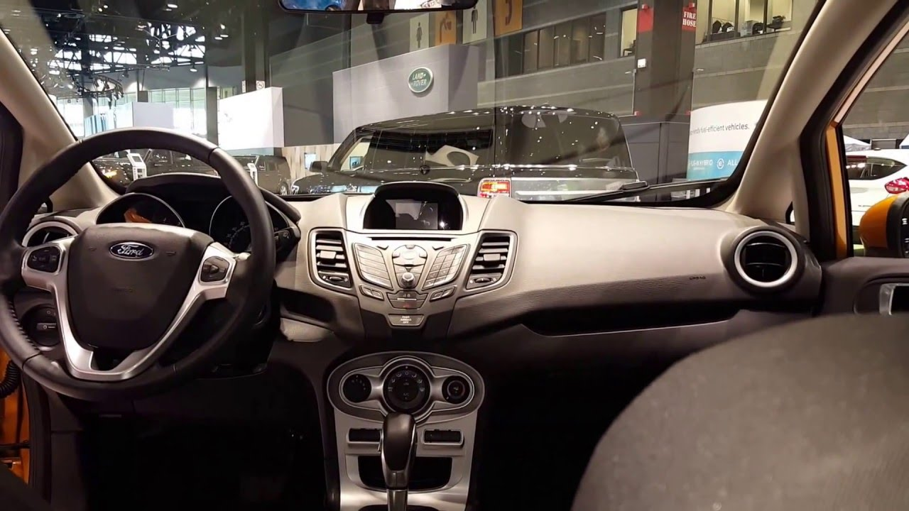 2016 Ford Fiesta Sedan Se Interior Chicago Auto Show