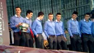 Mayo Minor All Ireland Football Champions  Homecoming At McHale Park Castlebar Mon Sept 23rd 2013