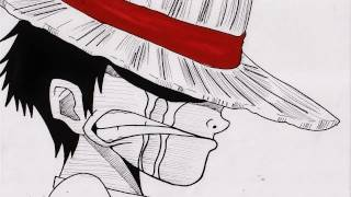 No.523 HOW TO DRAW LUFFY モンキー・D・ルフィ