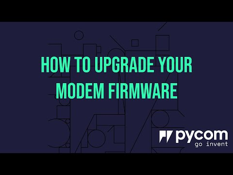 How To Upgrade Your Modem Firmware