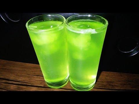 Green Lemon Juice Recipe/പച്ച കളറില് സ്പെഷ്യല് നാരങ്ങ വെള്ളം തയ്യാറാക്കാം
