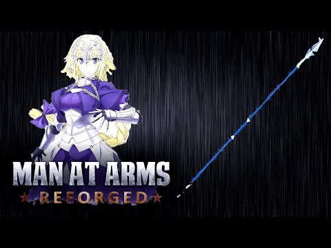Jeanne D'Arc's Lance - Fate/Apocrypha - MAN AT ARMS: REFORGED