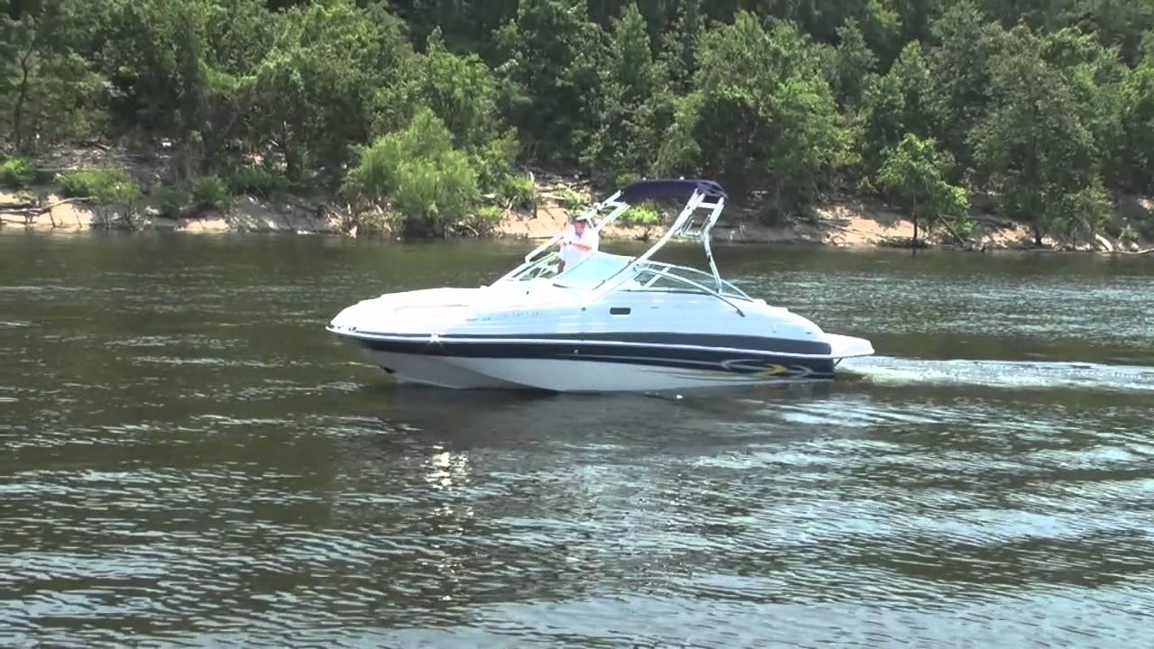 2006 Four Winns 224 Funship w/ Volvo Penta 5.0GXI/DP - YouTube