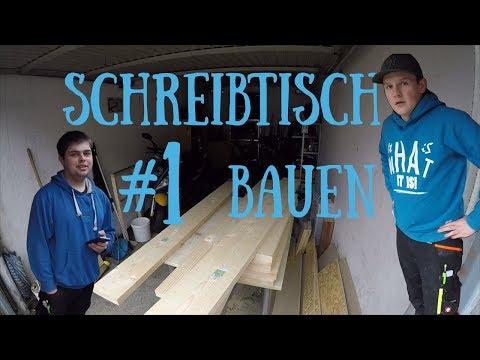 Projekt: Schreibtisch selber bauen | Bosch GKS 18V-57G | EinmalMitProfis