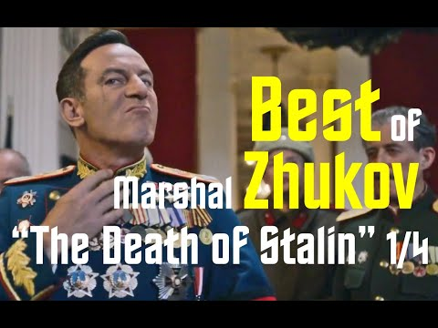 The Best Of Marshall Zhukov (Jason Issacs) In The Death Of Stalin (2017)  1/4