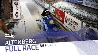 Altenberg | BMW IBSF World Cup 2016/2017 - Women's Bobsleigh Heat 1 | IBSF Official