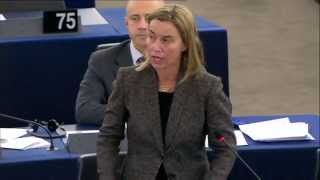Closing statement by Federica MOGHERINI on Russia, in particular the case of Alexey NAVALNY