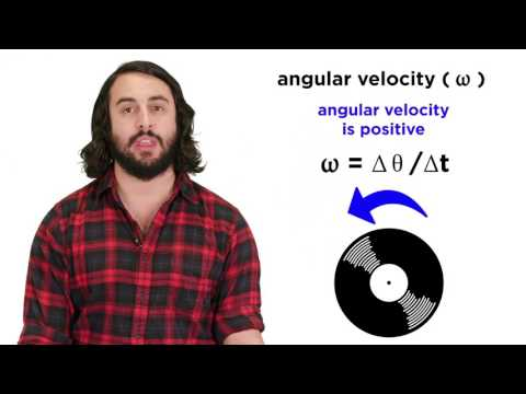 Angular Motion and Torque