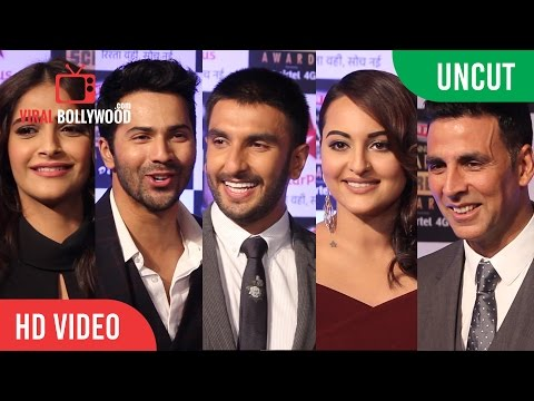 UNCUT - Star Screen Awards 2016 | Amitabh | Akshay | Ranveer | Sonakshi | Sonam | Varun & More