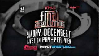 TNA Final Resolution 2011 Promo