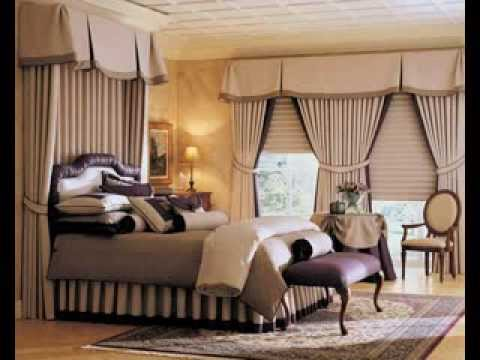 Curtains design ideas for master bedroom - YouTube