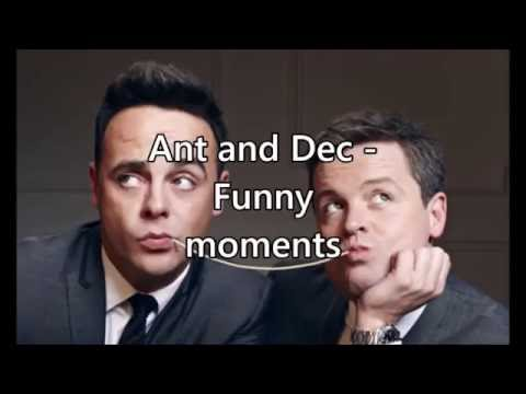 Ant and Dec  Funny moments compilation  Part 1