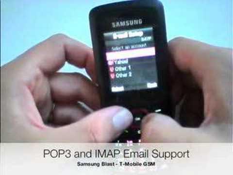 Noah from PhoneDog.com: Samsung Blast T729 (TMobile)