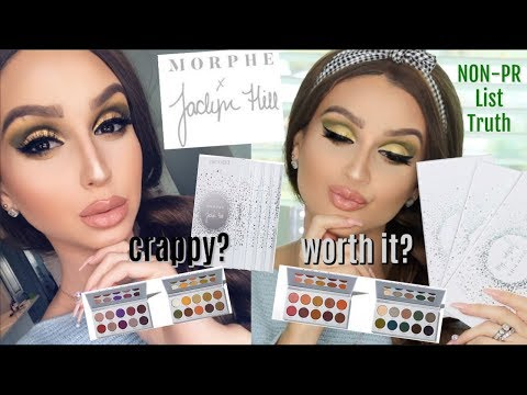 NEW JACLYN HILL X MORPHE BRUSHES THE VAULT ⎮THE UN PR LIST TRUE REVIEW & TUTORIAL thumbnail
