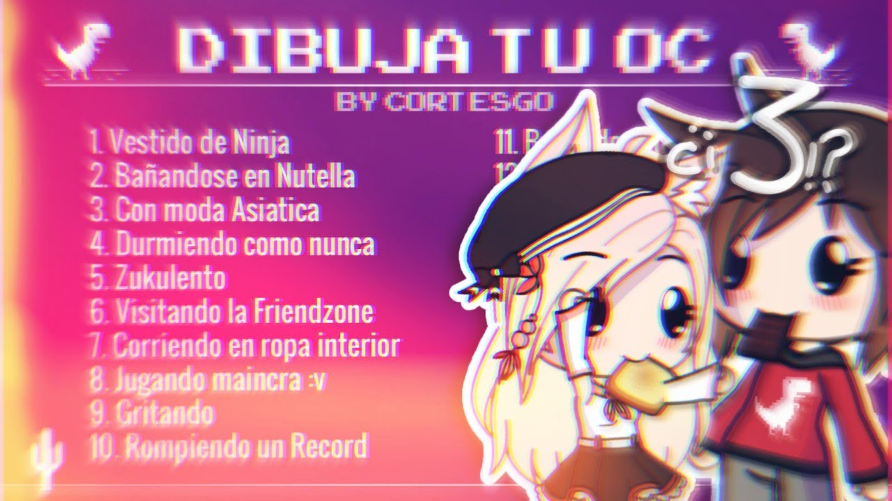 Dibuja Tu Oc By Cortesgo Gl 3 Youtube