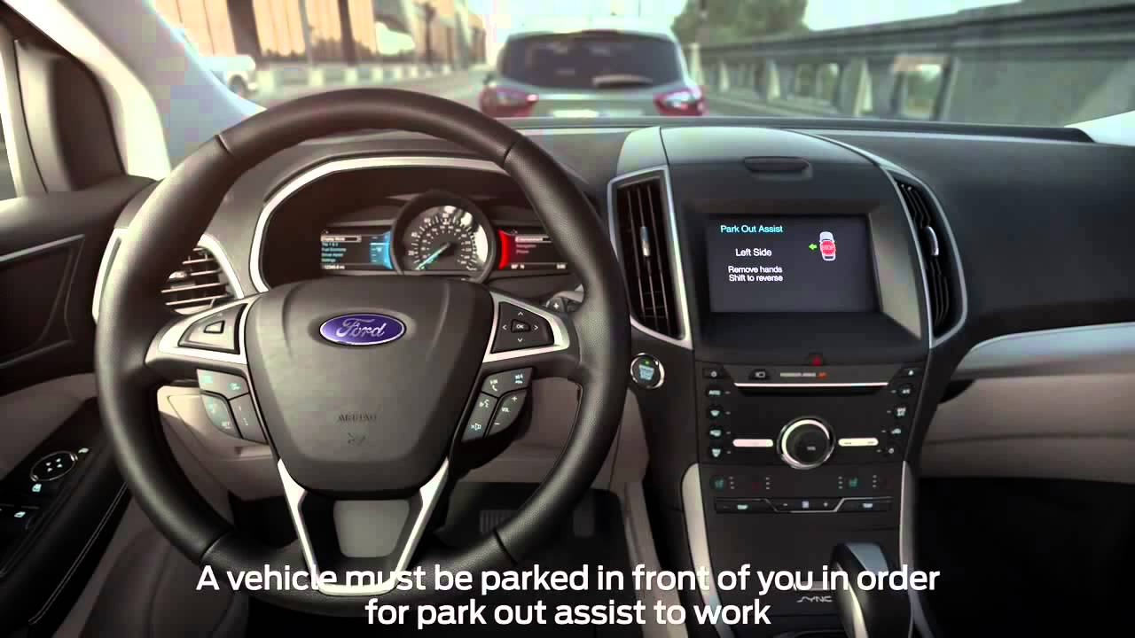 How To Use Fords Enhanced Active Park Assist With Side
