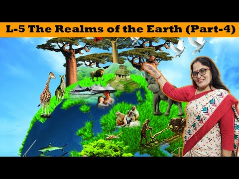The Realms of the Earth Part-4( Class 6th D.A.V)