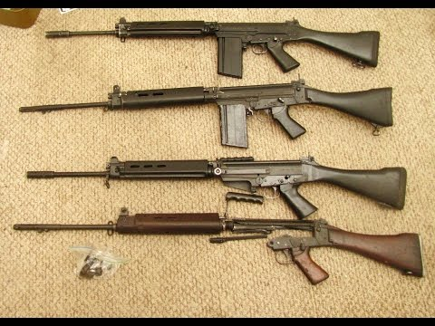 How to build a FAL L1A1 or Imbel (Inch and metric) complete