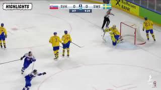 Sverige vs Slovakien hockey VM