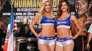 Corona Girls - Get Ready for Thurman vs. Diaz - SHOWTIME Boxing