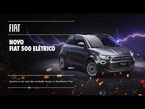 FIAT I Lançamento Fiat 500 elétrico