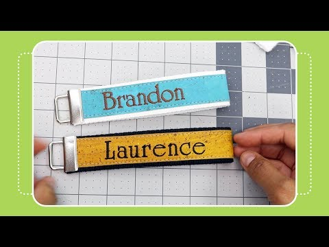 How To Make A Key Fob Cork Embroidery Tutorial By The Crafty Gemini