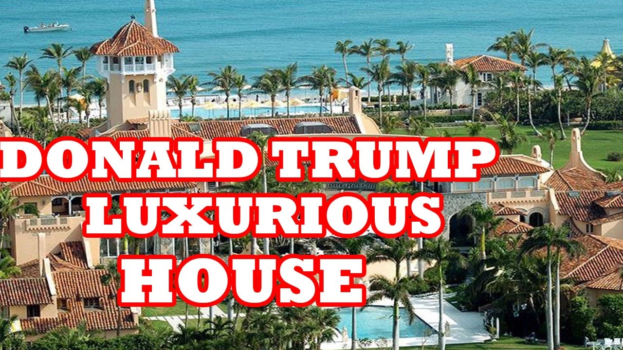 Donald trumps florida house tour 2016 inside outside luxurious apartment yoyo