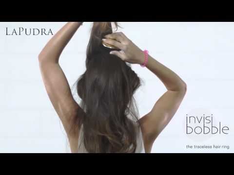 Резинка для волос Invisibobble   Идея для причёски