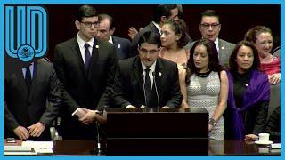"""El diputado por Morena y secretario de la Comisión de Deporte, Érik Morales, le mandó un mensaje claro a Ana Gabriela Guevara, directora de la Conade: """"Es hora de que se ponga las pilas"""", ya que dijo, tiene mucho por resolver en  este organismo, antes de que renuncie  para buscar la gubernatura de Sonora.   #ErickMorales #AnaGuevara #COMADE"""