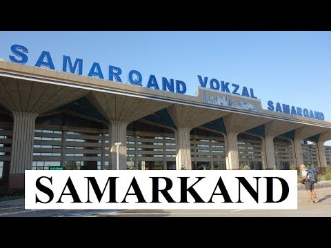 Uzbekistan The Capital of Timur-Ancient City Samarkand  Part 17