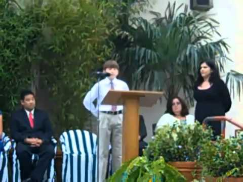 Eli, Inspiring Boy With Autism, Gives Brave 6th Grade Graduation Speech (VIDEO)